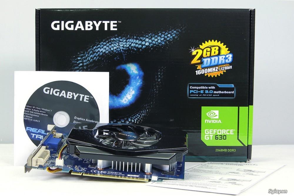 Bán card màn hình cũ tại Hà Nội sản phẩm Gigabyte Gt630
