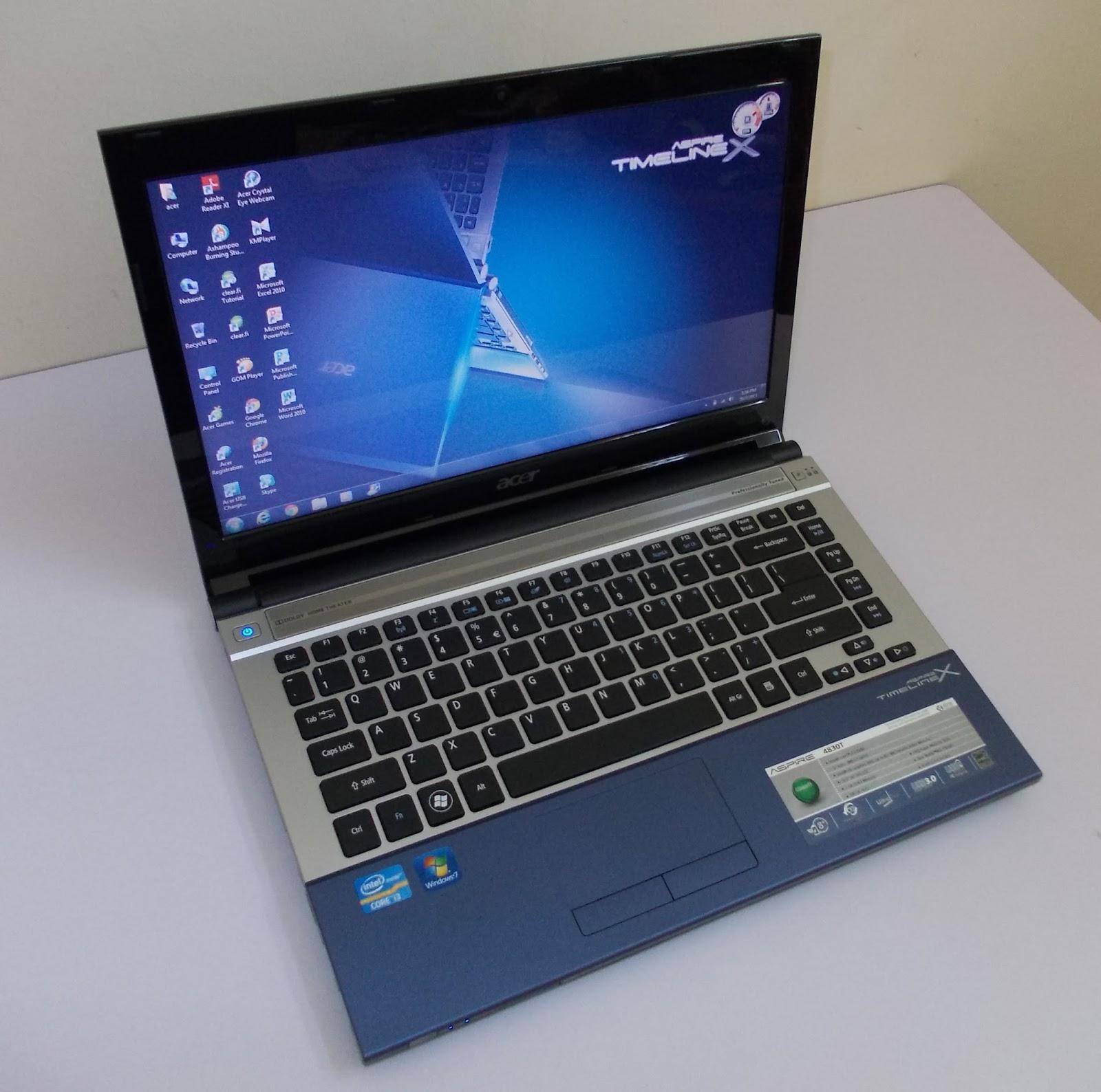 Bán laptop cũ Acer 4830t giá rẻ tại Hà Nội