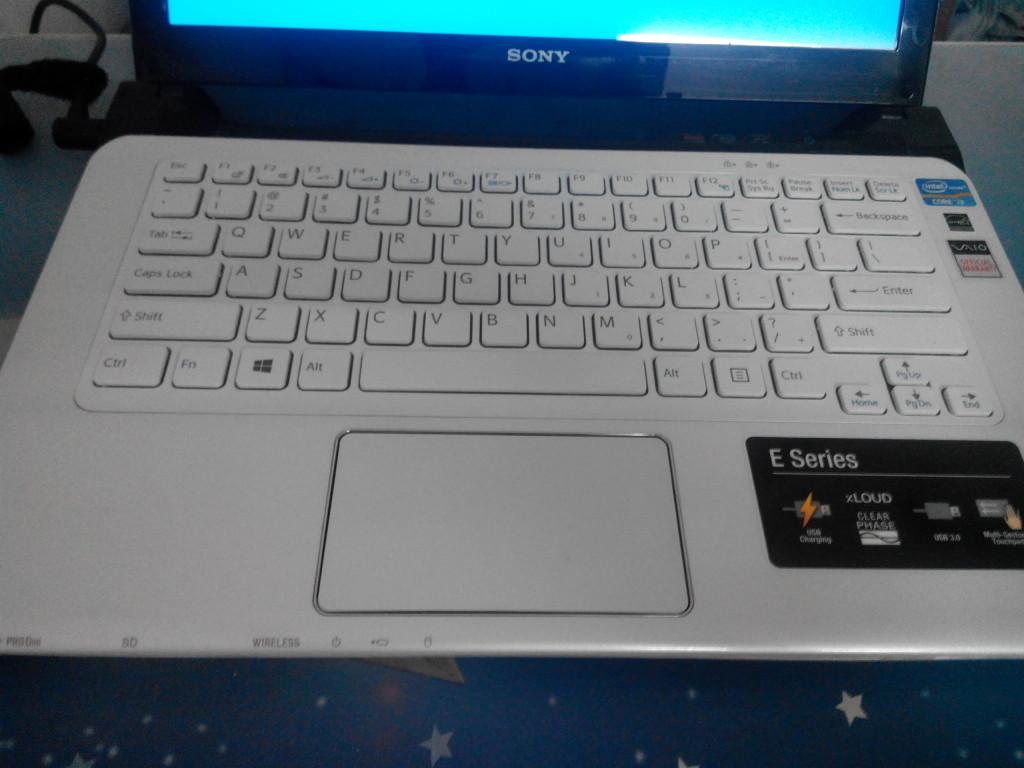 bán laptop cũ sony SVE14132cvw tại hà nội