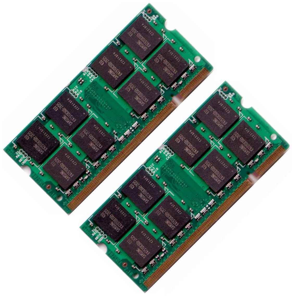 Ram laptop ddr2 2g buss 667/800 cũ
