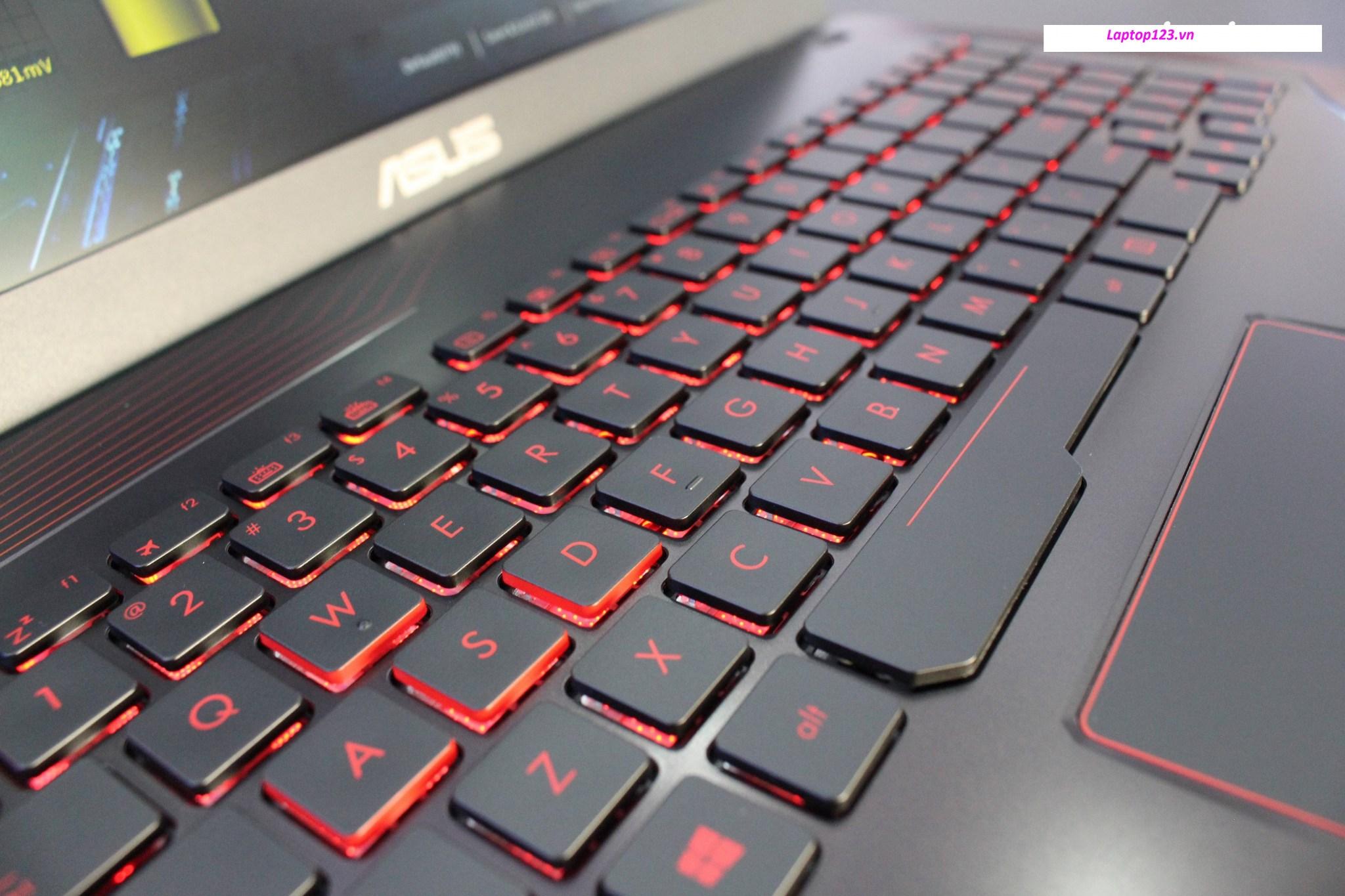 Thay bàn phím laptop Asus FX533VD giá rẻ tại Hà Nội