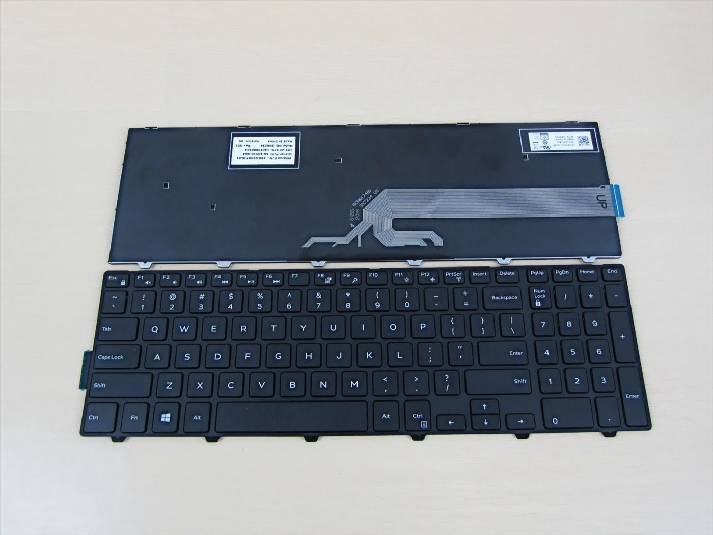 Thay bàn phím laptop Dell 5547 giá rẻ tại Hà Nội