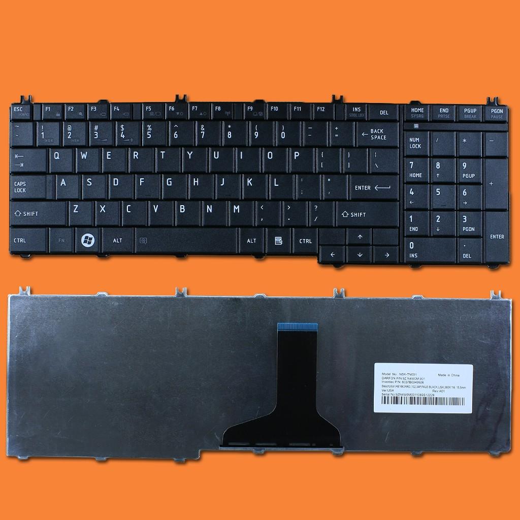 Thay bàn phím laptop Toshiba L655 giá rẻ tại Hà Nội