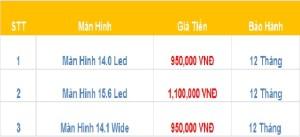 báo giá thay màn hình laptop tại Bắc Ninh